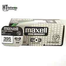 Maxell Sr927sw 395 Silver Oxide Watch Battery X5 Pcs Made in Japan Post