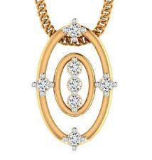 Certified 100% Genuine Diamond 18kt yellow Solid Gold Stunning Pendant Jewelry