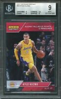 2017-18 panini instant #35 KYLE KUZMA lakers rookie card BGS 9 (9 8.5 9 9)