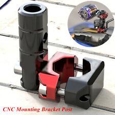 360° Adjustable CNC Mounting Bracket Post Set for Motorcycle LED Head Fog Light