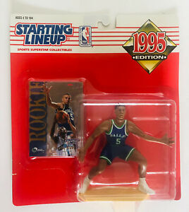 Starting Lineup 1995  Action Figure Jason Kidd W/ Rookie Card