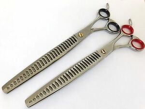 "8.5"" Gift set pets grooming chunker scissor thinning scissor dog cat shears"