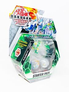 New Bakugan Geogan Rising Diamond Falcron Ultra Starter Pack Sharktar Fenneca