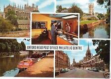 (60161) Postcard: Oxford Philatelic counter  RobStamps