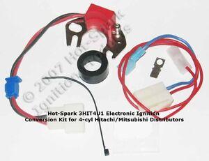 Electronic Ignition Kit for 1966-80 Datsun/Nissan 4-cylinder Hitachi - 3HIT4U1