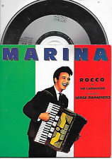 ROCCO GRANATA - Marina ('89 NEW BEAT VERSION) CD SINGLE 4TR Holland 1989