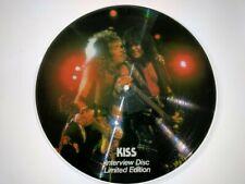 KISS PICTURE DISC - LIM.EDITION LP - INTERVIEW W. YOUNGMAN 1981 - UK 84 -L078501