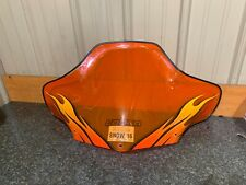 Cobra Powermadd Windshield Ski-Doo REV 03-07 GTX/GSX/ orange flame #212201