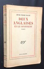 RARE EO 1/5 HC SUR PUR FIL 1956 H P ROCHÉ : DEUX ANGLAISES ET LE CONTINENT