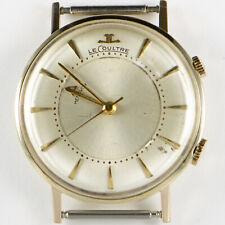 Vintage Jaeger-LeCoultre Memovox Alarm 14K yellow gold men's watch