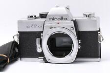 Fedex DHL Comme Est Minolta SRT101 35mm Reflex Corps Seulement Japon 200840