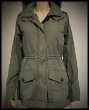NWT Abercrombie & Fitch Jacket Women's  2-in-1 Parka Jacket XL Olive NEW A&F