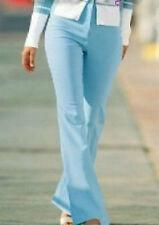 Stylische bequeme Damen Girl Stretch Hose hellblau gerade Stretchhose 42 Neu