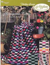 Crochet Pattern ~ HONEYCOMB COLORS Afghan ~ Instructions