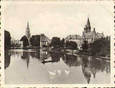 1939 photo card purchased while visiting bruges ! lake of love