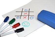 Magnetfolie / Whiteboardfolie magnetisch weiß beschreibbar 0,6mm x 62cm x 1m