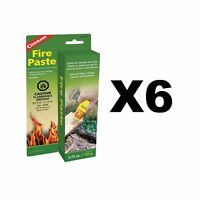 Coghlan's Fire Paste Survival Camping Fire Starters Odorless 3.75oz (6-Pack)