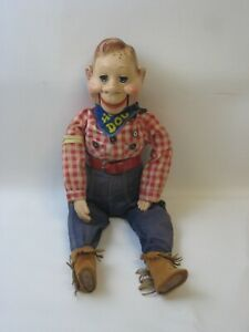 1950's Howdy Doody Ventriloquist Doll Works