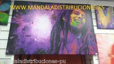 CUADRO FOTOLIENZO EXCLUSIVO BOB MARLEY 120x80Cm DECORACION RESTAURANTES CASAS