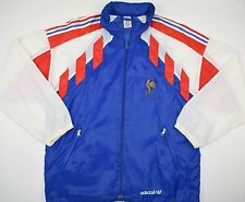 1990-1992 FRANCE ADIDAS FOOTBALL JACKET (SIZE S)