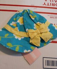 Mud Pie E7 Summer Baby Girl Infant /& Toddler Oopsie Daisy Sun Hat 1502267