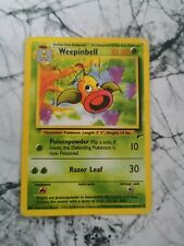 Pokemon Vintage Collectable Cards Base Set 2 2000 Weepinbell 64/130 Uncommon