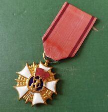 PL Orden Abzeichen - Polen - Arbeiter - Stufe I in Gold
