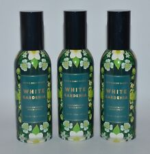 3 BATH BODY WORKS WHITE GARDENIA CONCENTRATED ROOM SPRAY PERFUME MIST FRESHENER