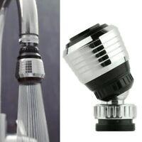 360 grifo giratorio filtro de boquilla dispositivo de ahorro de agua D2B3