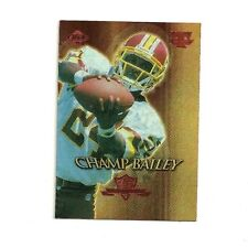 1999 CHAMP BAILEY COLLECTORS EDGE TRIUMPH COMMISSIONERS CHOICE INSERT - REDSKINS