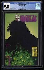 Incredible Hulk (1968) #466 CGC NM/M 9.8 White Pages Death of Betty Ross Banner!