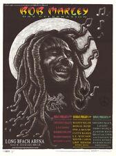 MINT/SIGNED/DOODLED Bob Marley 1997 EMEK Long Beach Silkscreen Poster