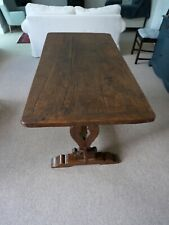 More details for refectory table with pegged top and legs