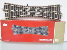 Fleischmann 6165 - H0 Double traversée DOUCE DROIT Croiser -