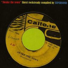SUPERSONIC AWAKE THE TOWN REGGAE REVIVE ROCKSTEADY MIX CD VOL 1