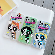 Powerpuff Girls Clear Phone Case Cover for iPhone 11 Pro Max 7 8 Plus XR Xs SE