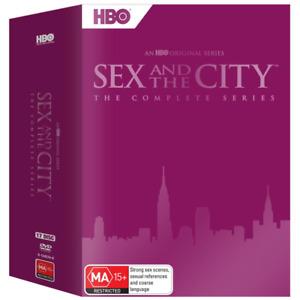 Sex & The City Complete Series Season 1-6 New DVD Box Set Region 4 R4