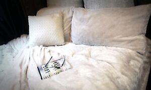 Super Soft Silky Plush Sheets New