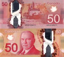 "CANADA 50 DOLLAR 2012 ""2020"" PNew Not yet in catalog, Polymer, UNC"