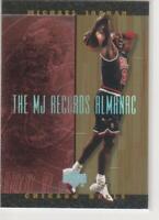 MICHAEL JORDAN 1999 UPPER DECK HARDCOURT #J8 MJ RECORDS ALMANAC FOIL INSERT!