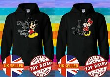 Disney I Don't Mickey Minnie Mouse Matching XMAS Hoodie Men Women Unisex 3928-9
