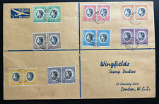 1937 South West Africa First Day Oversized cover Coronation king George VI To UK