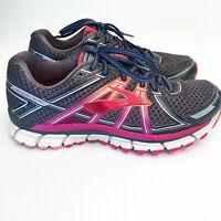 Brooks GTS 14 Adrenaline Women's Running Shoes Grey Purple Sneaker US 9 EUR 40.5