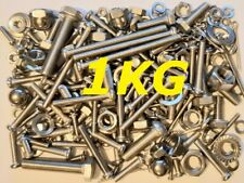 1kg Mixed Stainless Fasteners - Kawasaki S2 350cc