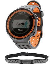 Garmin Forerunner 220 schwarz orange inkl. Herzfrequenz Brustgurt HR HRM GPS OVP