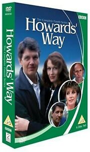 HOWARD'S WAY COMPLETE SERIES 4 DVD 4th Fourth Forth Season Four UK Release R2