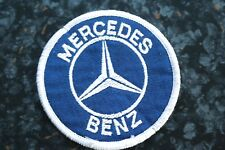 Two Old Mercedes Cloth Badges / Patches ~~ Jackets Overalls etc
