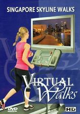 SINGAPORE SKYLINE WALKS VIRTUAL WALK WALKING TREADMILL ELLIPTICAL WORKOUT DVD
