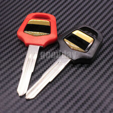 2pcs Motorcycle Blank Key Uncut fit for Honda Goldwing 1800 GL1800 GL1500