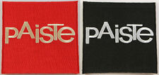 Paiste Cymbals Embroidered Iron on Patch, Swiss cymbals, percussion, bands